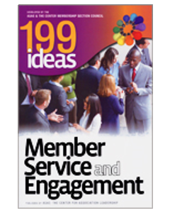 199 ideas member service engagement