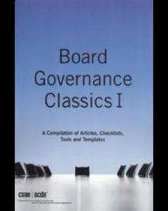 board governance classics volume one