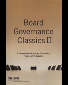 board governance classics volume two