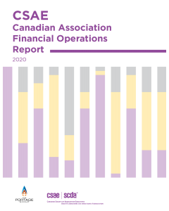 2020 CSAE Canadian Associations Financial Operations Report