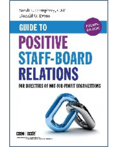 guide to positive satff board relations